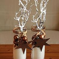 Frosted Branches Centerpiece