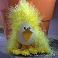 Fuzzy the Bad Hair Day Chick