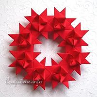 German Star Wreath