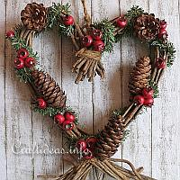 Grapevine Heart Decoration