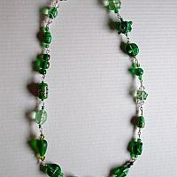 Green Beaded Necklace 2