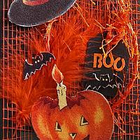 Halloween Greeting Card or Invitation