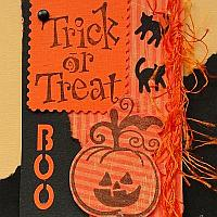 Halloween Trick or Treat ATC