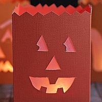 Happy Pumpkin Paper Lantern