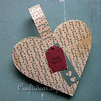 Heart Shaped Holder with Handles