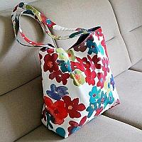 Lined Fabic Tote
