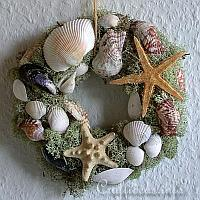 Natural Wreath with Maritime Motifs