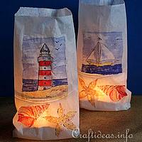 Nautical Tea Lights
