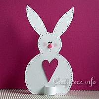 Paper Bunny Decoration