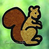 Paper Squirrel Craft for Kids