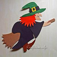 Paper Witch Decoration