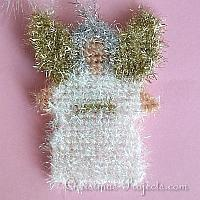 200 Plastic Canvas Angel Ornament