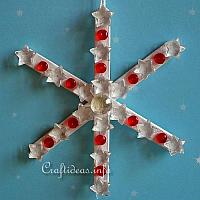 Popsicle Stick Snowflake or Star