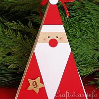 Santa Claus Triangle Gift Box
