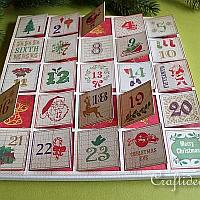 Scrapbook Paper Advent Calendar