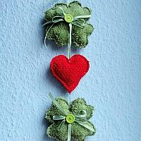 Shamrock and Hearts Decoration