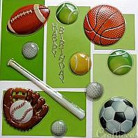 Craft greeting cards for summer and birthdays sports birthday card for boys m4hsunfo
