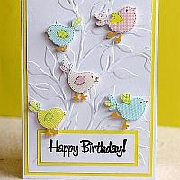 Spring Birthday Card