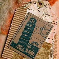 The Leaning Tower of Pisa Card