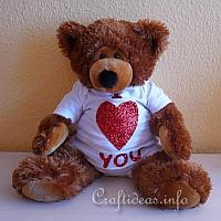 Valentine's Day Teddy Bear