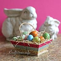 Washi Tape Easter Basket
