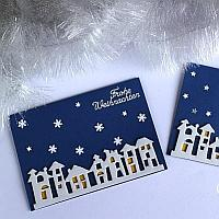 Winter Night Christmas Cards