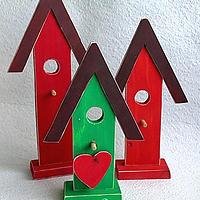 Wooden Country Birdhouses