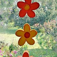 Wooden Flower Garland