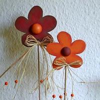 Wooden Flowers Decoration