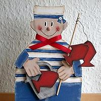 Wooden Sailor Boy Craft