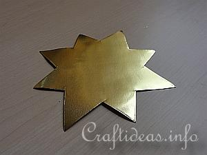 3-D Eight Pointed Star Tutorial 4