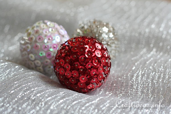 3-D Sequin Ornaments 2