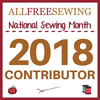 All Free Sewing National Sewing Month Contributor