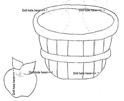Apple Basket Template