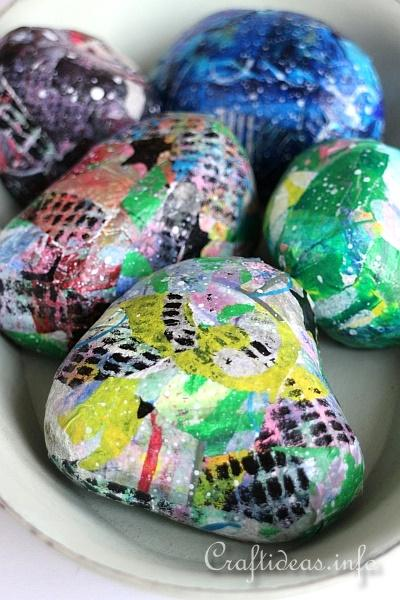 Artistic Rock Paper Weights