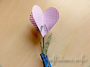 Assembling the Heart and Leaf on the Stem