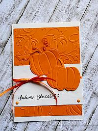 Autumn Greeting Card or Birthday Card
