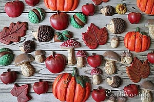 Autumn Season - Fall Decorations and Crafts