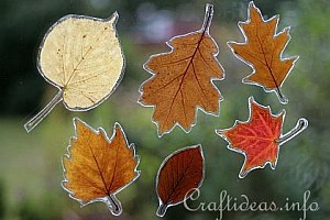 Autumn Season - Fall Leaf Crafts