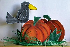 Autumn Season - Fall and Halloween Wood Crafts