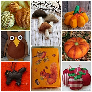 Autumn Season Sewing and Textile Crafts