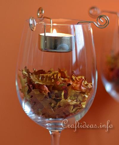 Autumn Tea Lights Decoration 2