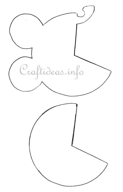 Spring Craft Template - Baby Carriage / Baby Pram Template