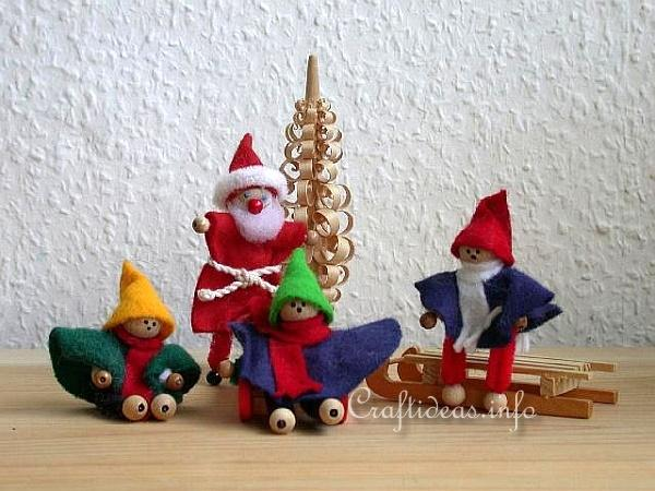 basic christmas craft ideas chenille kids and chenille santa claus
