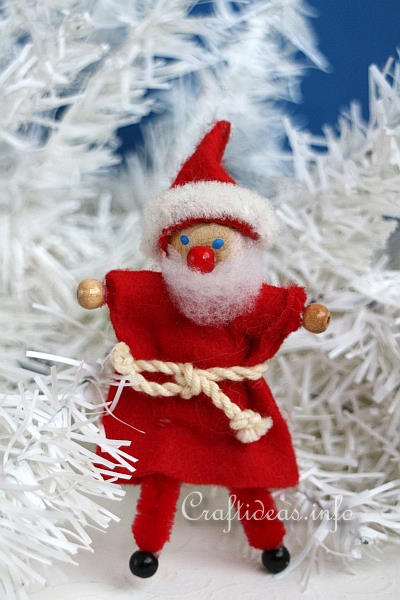 santa claus craft ideas free craft project chenille 5362
