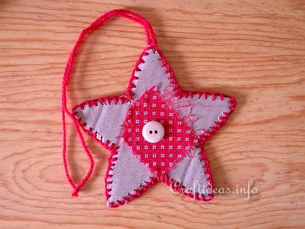Basic Christmas Craft Ideas - Primitive Star Ornament