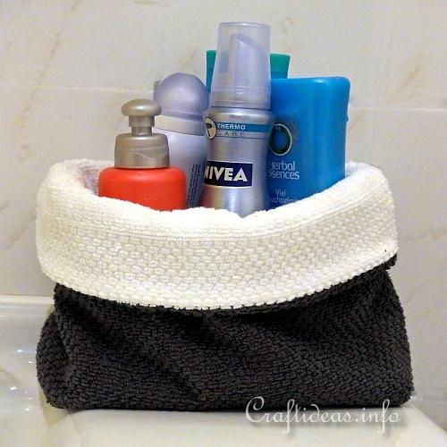 Bathroom Utility Basket 1