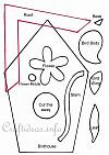 Birdhouse Pattern for Children