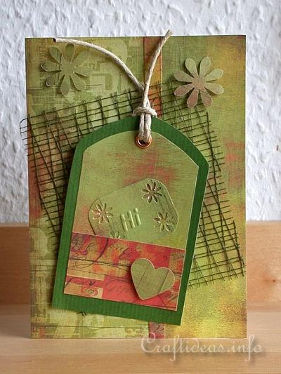 Craft Greeting Cards All Occasion Olive Green