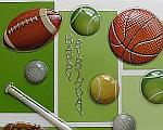 Birthday Card for Boys - Sports Card